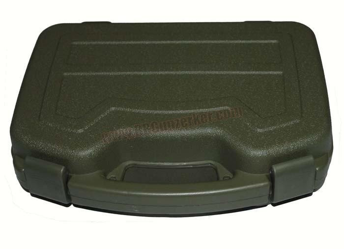 กล่องไฟเบอร์ปืนสั้น ใบใหญ่ ชนิดกันน้ำ สีเขียว
