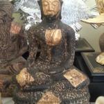 พระศิลาแลงอัด พระบูชาสมัยสุโขทัย ขนาดสูง 16 นิ้ว หน้าตักกว้าง 9 นิ้ว