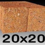 หินศิลาแลง ขนาด20x20เซนติเมตร