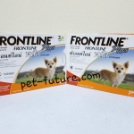 Frontline Plus for dogs weight 0-10 kg Exp.02/20 จำนวน 2 กล่อง จัดส่ง ฟรี