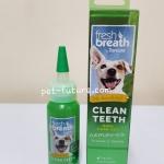FRESH BREATH Clean teeth oral care gel 59ml. Exp. 05/22 ขนาดเล็กค่ะ