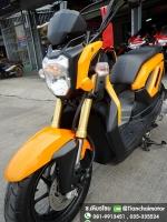 #ดาวน์7500 ZOOMER-X ปี57 สีเหลืองแจ่ม เครื่องเดิมดี สภาพงามๆ ราคา 29,500