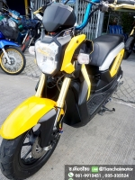 #ดาวน์9000 ZOOMER-X ปี56 สีเหลืองสวย เครื่องเดิมดี พร้อมใช้งาน ราคา 26,500