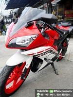 #ดาวน์7000 R15 ปี59 สีแดงสวยเวอร์ เครื่องเดิมๆ ขับขี่เยี่ยม ราคา 55,000