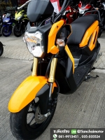 #ดาวน์7000 ZOOMER-X ปี57 สภาพเดิมดี วิ่งน้อย สีส้มสดใส พร้อมใช้ ราคา 27,500