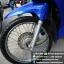 #ดาวน์3000 WAVE110i ปี58 สตาร์ทมือ เครื่องเดิมดี สีน้ำเงินสวยใส ราคา 30,000 thumbnail 4