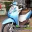 SCOOPY-I ปี53 สีฟ้าน่ารัก สภาพดี เครื่องเดิม ราคา 24,000 thumbnail 4