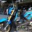 ZOOMER-X ปี57 สีน้ำเงินสวย สภาพดี เครื่องดี ราคา 31,000 thumbnail 5