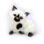 ตุ๊กตาเหมือนจริง แมวเปอร์เซียตัวเล็ก ขนาด 10x8x9.5cm (Pre Order)