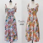 Miamasvin Korea Floral Romantic Dress