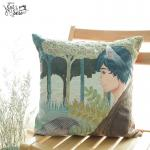 Fairy Tale Cushion : Werewolf