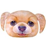 หมอนหน้าน้องหมา 3 มิติ ขนาด 50x40cm Golden