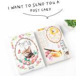 โปสการ์ดชุด I Want to Send You a Postcard - 30ใบ/เซ็ท