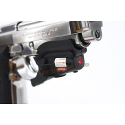 เลเซอร์แดง ติดโกร่งไกปืน Beretta M92