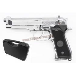 Beretta M92FS สีเงิน - Keymore (พร้อมกล่อง Hardcase)