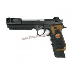 Beretta M92 Extended Samurai Edge Biohazard B.Burton - WE