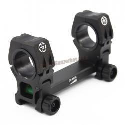 ขาจับ Scope M10 QD-L วง 25-30mm จับราง 20mm (มีมาตรวัดระดับน้ำ)