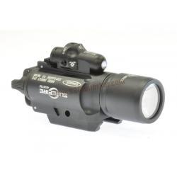 ไฟฉาย+เลเซอร์ติดปืน SUREFIRE X400