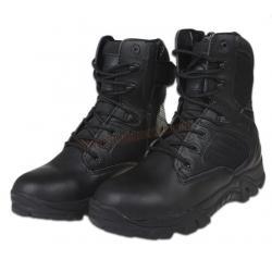 รองเท้า Delta Combat Boots ข้อสูง สีดำ