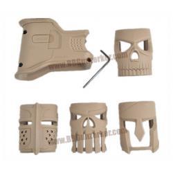 บ่อแม๊กกริ๊ป MOJO สีทราย - FAB Defense for M4/AR-15