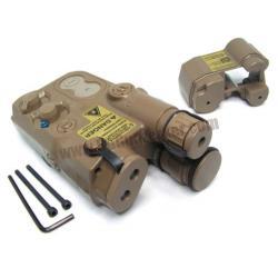 กล่องแบตเตอรี่สั้น+ยาว PEQ-16 สีทราย