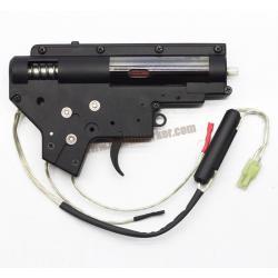 เกียร์บ๊อกสำเร็จ V.2 บูช 8mm. ,ลูกสูบฟันเหล็ก