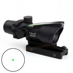 Green Dot Trijicon ACOG TA32 1x32 Green Fiber Optic