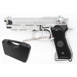 Beretta M9A1 สีเงิน (Full Auto) - Keymore (พร้อมกล่อง Hardcase)