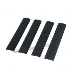 Rail Cover Keymod A-Modle สีดำ