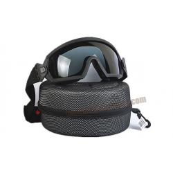 แว่น Goggle Smith Optics Elite สีดำ - FMA
