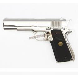 M1911A1 สีเงิน กริ๊ป MEU - WE