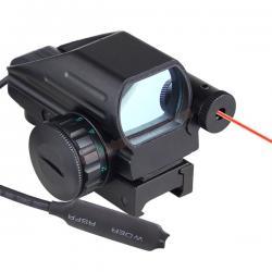 Red Dot C-MORE หมวกเหล็ก + Laser สวิทซ์หางหนู