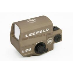 Red Dot Leupold Carbine Optic (LCO) สีทราย