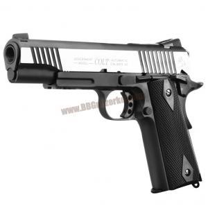 COLT 1911 Rail CO2 GBB Pistol (Dual Tone) - CYBERGUN