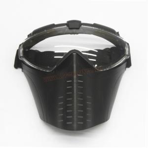 หน้ากาก มารูอิ สีดำ มีพัดลมระบายอากาศ - Battle Axe