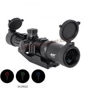 กล้องเล็งไว Scope ANS Optical 1.5-4x30 CQB เป้า 3/4 Circle