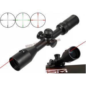 กล้อง Scope VISM 3-9x42 Red Center Beam มีเลเซอร์แดงในเลนส์