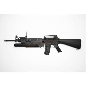 E&C 702S : M16A3 with M203 บอดี้เหล็ก JR.Custom Gen 2