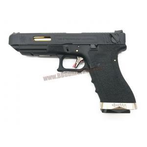 Glock35 Brand War T1 เฟรมดำ สไลด์ดำ ท่อทอง - WE