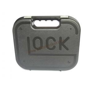 กล่องไฟเบอร์ปืนสั้น GLOCK สีดำ