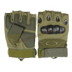 ถุงมือครึ่งนิ้ว Oakley Factory Pilot สีเขียว