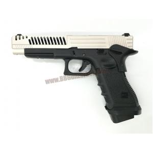 R34-D : Glock34 D Custom สไลด์เงิน - ARMY Armament
