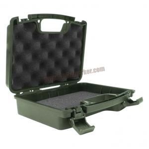 กล่อง ABS ปืนสั้น ลายหมา สีเขียว