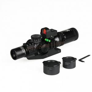กล้องเล็งไว Scope Canis Latrans 1-4x24 IRF Combo Mini Red Dot