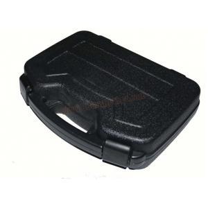 กล่องไฟเบอร์ปืนสั้น ใบใหญ่ ชนิดกันน้ำ สีดำ