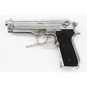 Beretta M92 สีเงิน - WE (ยิงลายร่องลึก)