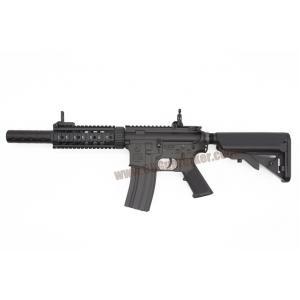 E&C 607S : M4 CQB SD บอดี้เหล็ก JR.Custom Gen 2