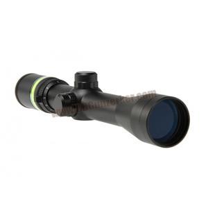 กล้อง Scope Fiber Optic Green 3-9x40 เส้นเรืองแสงสีเขียว
