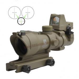กล้อง 4x32 Trijicon ACOG TA31 ECOS สีทราย (Green Fiber Optic)