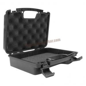 กล่อง ABS ปืนสั้น ลายหมา สีดำ